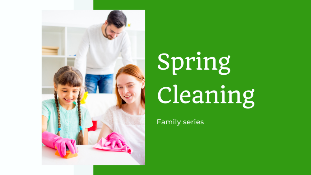 Family Series - Spring Cleaning 2019